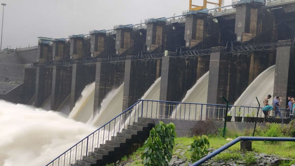 Uttara Kannada: 58,000 Cusecs Of Water Released To Kali River By Kadra Reservoir