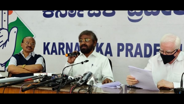 Eshwar Khandre accused the Karanataka state government of neglecting the Covid 19 deaths