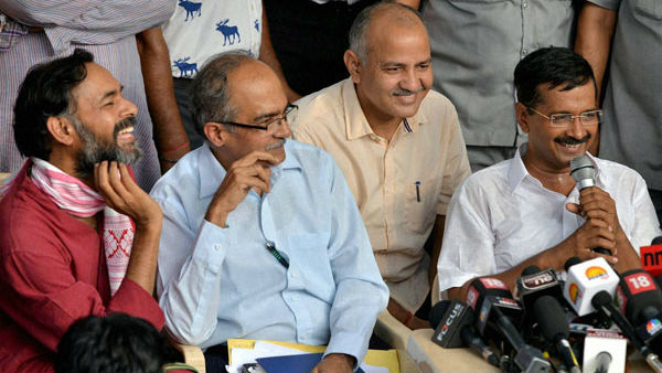Prashant Bhushan says India Against Corruption propped up by the BJP and RSS