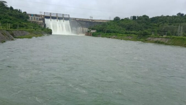 Shivamogga: 47,500 Cusecs Of Water Released From Bhadra Reservoir