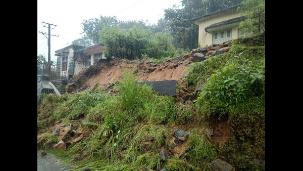Shivamogga: Barrier Collapsed In Joga, Due To Heavy Rains