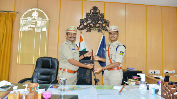Ballari: Saidullah Adavath Took Incharge As New SP