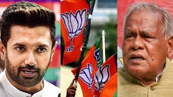 ಪಾಸ್ವಾನ್ vs ಮಾಂಝಿ vs ನಿತೀಶ್, ಬಿಜೆಪಿಗೆ ಪೀಕಲಾಟ