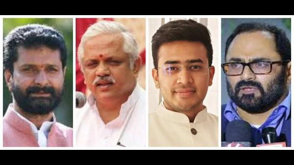 ಬಿಜೆಪಿ ರಾಷ್ಟ್ರೀಯ ಪದಾಧಿಕಾರಿ ತಂಡ: ಸಿ.ಟಿ ರವಿ, ತೇಜಸ್ವಿ, ರಾಜೀವ್ಗೆ ಸ್ಥಾನ