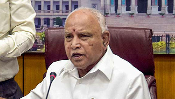 CM Yediyurappa condolesd death of MP Suresh Angadi