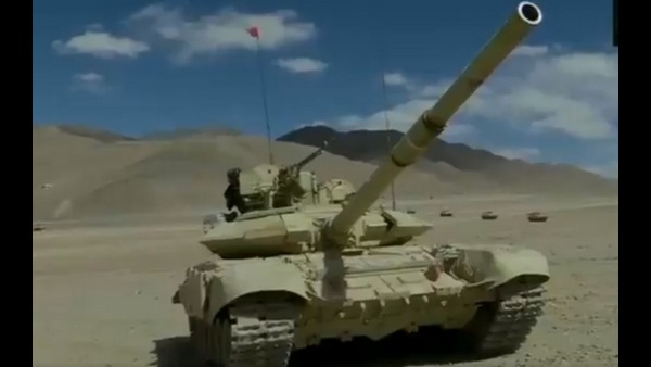 Amid Conflict Between India And China, Video Shows Army Tanks Near LAC