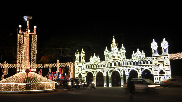 Mysuru Dasara 2020: Palace Administration Decided Not to Use Chinese LED Bulbs for Decoration