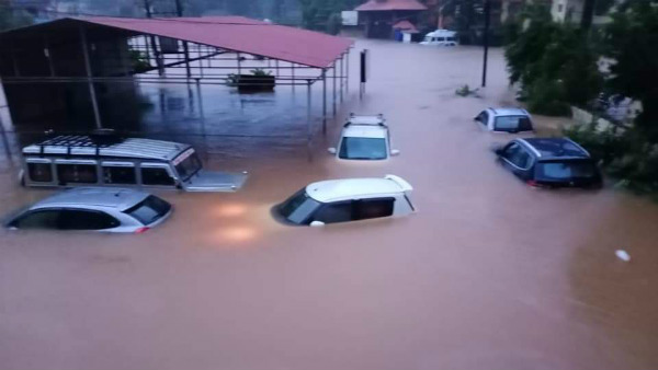 Heavy Rain In Udupi District: Floods After 4 Decades