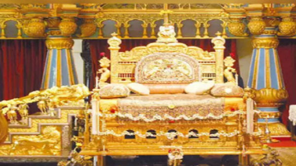 Mysuru: Golden Howdah Open To Public Viewing At Mysore Palace Ahead Of Dasara Festival