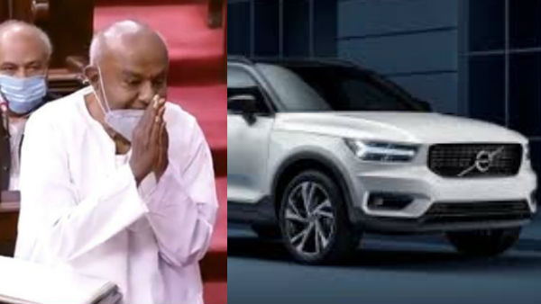 Government Of Karnataka Purchased Volvo XC60-D5 Series For JDS Supremo Deve Gowda