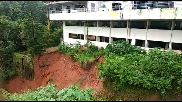 Fear Of Landslides After Floods In Udupi