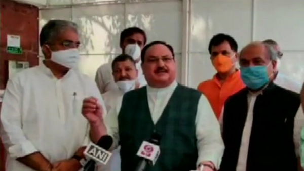 Opposition Parties Are Behave Like Anti-Farmers In Farm Bill- Says J P Nadda