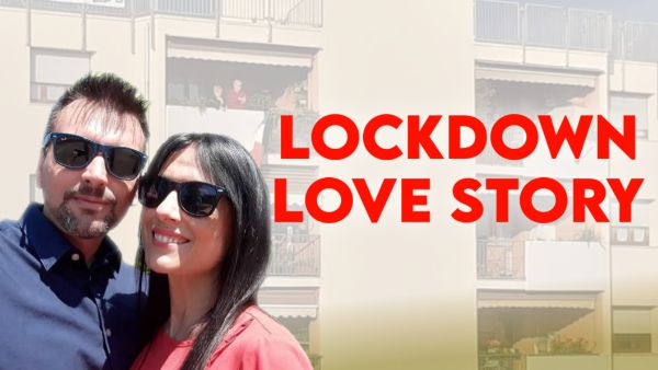 Lockdown Love Story: ಇದು ಬಾಲ್ಕನಿಯಲ್ಲಿ ಅರಳಿದ ಪ್ರೀತಿ!