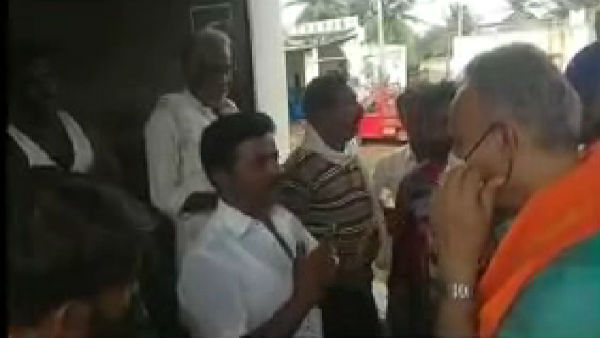 Sira By Elections: Video Of Villagers Asking Question To former MLA Suresh Gowda Viral