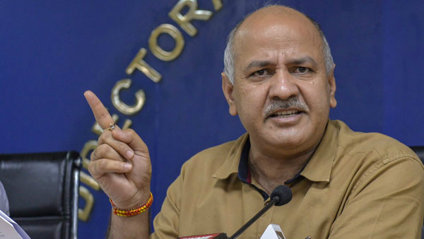 Manish Sisodia Tests Negative For COVID-19