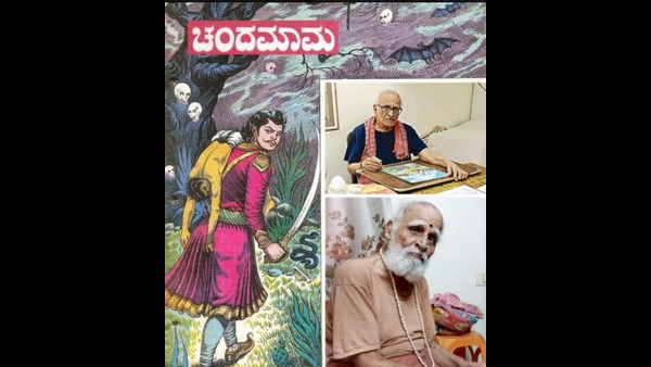 Chandamama Artist KC Sivasankar, Illustrator Of Famous Vikram And Vetala Series Passes Away