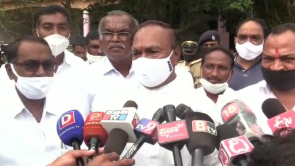 KS Eshwarappa objected obscene of Siddaramaiah to shepherd community Convention