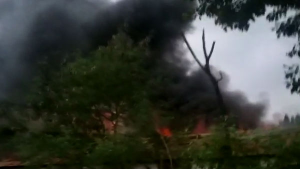 Fire Tragedy In Vibhav Industry In Hubli Taluk Of Dharwad District
