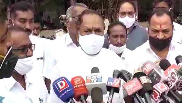 Davanagere: Minister KS Eshwarappa Reacted About Re Allocation Of Portfolio