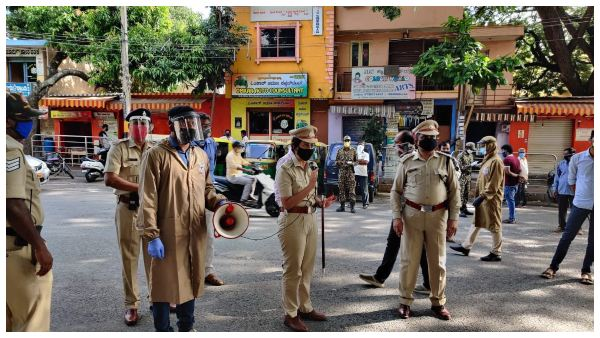 Mask Mandatory: BBMP deployed Marshals to loot Public alleges AAP