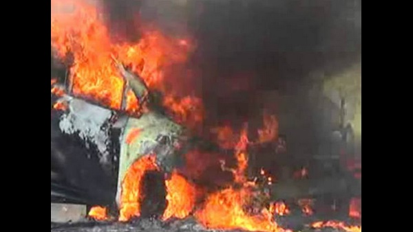 Nashik NCP Leader Sanjay Shinde Burnt Alive After Car Catches Fire By Short Circuits