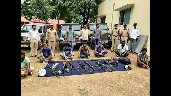 Chitradurga: Forest Officials Arrested 7 People Who Came To Hunt Wild Animals