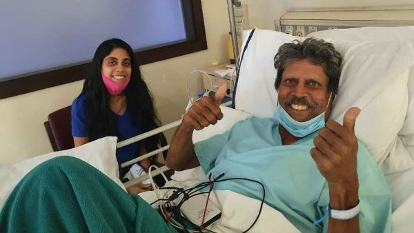 Education Minister S Suresh Kumar wishes Cricketer Kapil Dev a speedy recovery