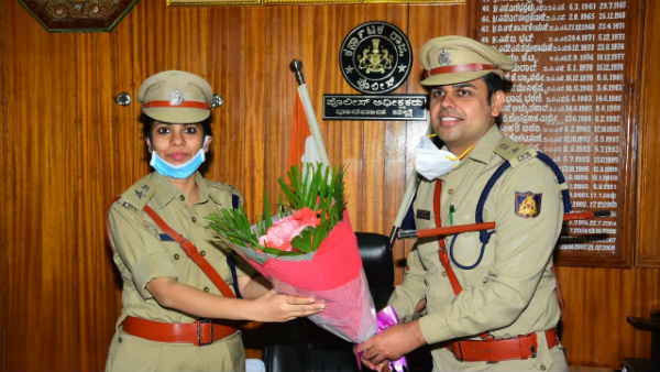 P Krishna Kant Takes Charge As Dharwad SP