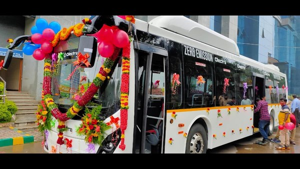BMTC Starts Trial Run Of Electric Bus