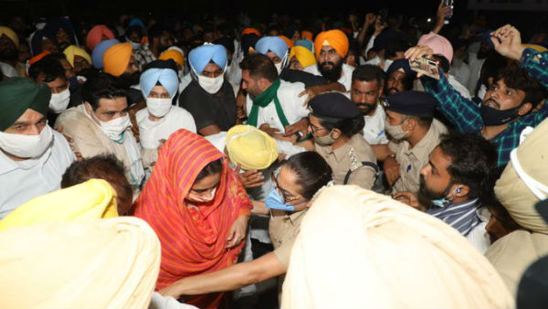 Protest Against Farm Laws: Ex-Minister Harsimrat Badal Arrested By Punjab Police