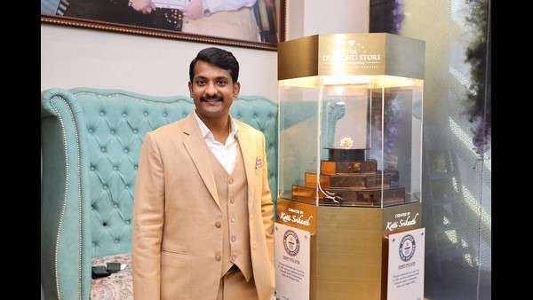 Indian Jeweller Achieves Guinness World Record For Most Diamonds Set in One Ring!