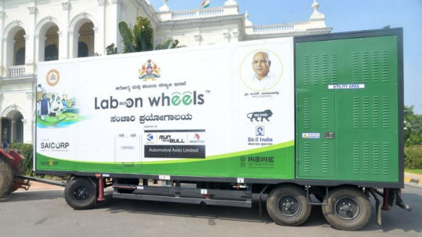 Mysuru: Mobile Lab Named Lab On Wheel Launched To Detect Virus