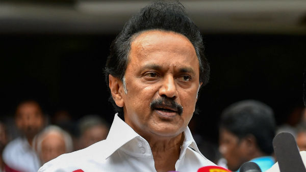 DMK Chief Stalin Questions Over Probe On Jayalilitha Death Failed To Complete