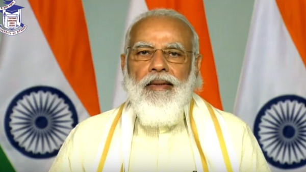 Mysuru PM Modi Speech at 100th Convocation of UOM Highlights in Kannada
