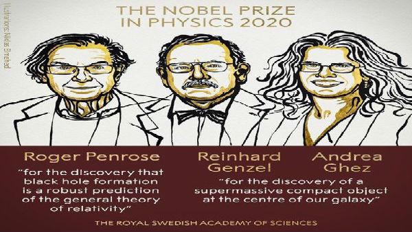 ಮೂವರು ವಿಜ್ಞಾನಿಗಳಿಗೆ ಭೌತಶಾಸ್ತ್ರ ನೊಬೆಲ್ ಪ್ರಕಟ