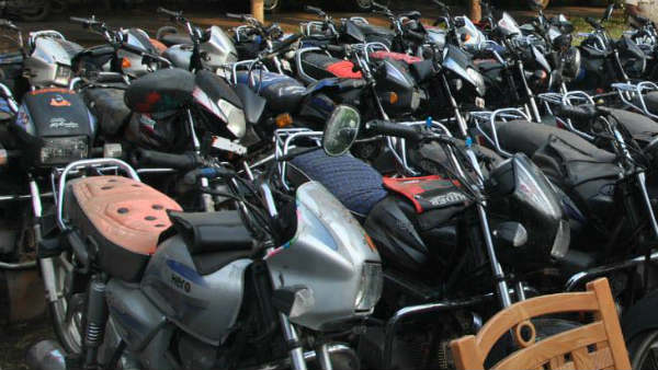 Bike Rider Fined 42,500 For Violation Of Traffic Rules