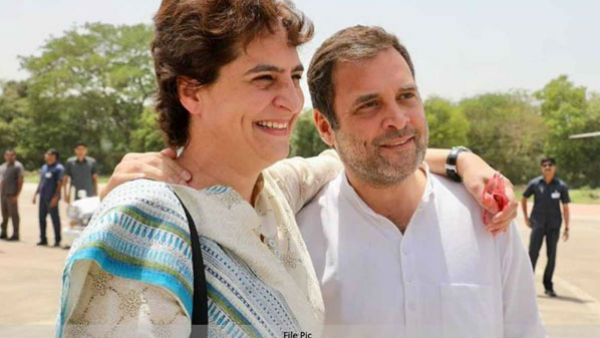 Fake News: Did Rahul, Priyanka Gandhi Joke On Their Way To Hathras