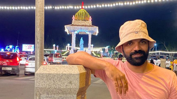 Mysuru: Actor Neenasam Satish Watched Mysuru Dasara Celebration