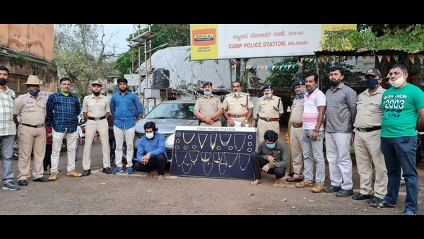 Belagavi: Police Arrested Thieves Who Used To Rob With The Help Of Map