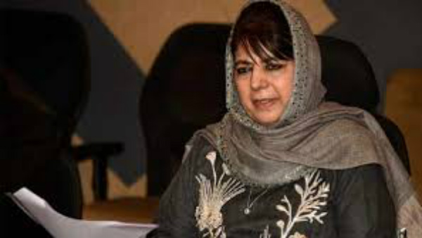 JK PDP Chief Mehbooba Mufti Released From Detention After 14 Months