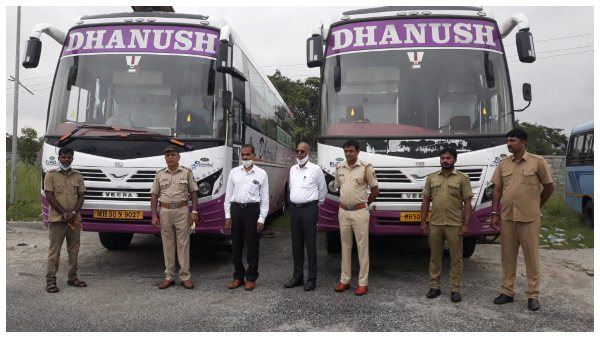 Yeshwanthapura RTO seize two buses with same Registration number