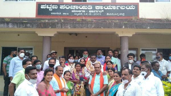 ಶಿವಮೊಗ್ಗ: ಕಾರ್ಗಲ್ ಪಟ್ಟಣ ಪಂಚಾಯಿತಿಯಲ್ಲಿ ಬಿಜೆಪಿಗೆ ಅಧಿಕಾರ