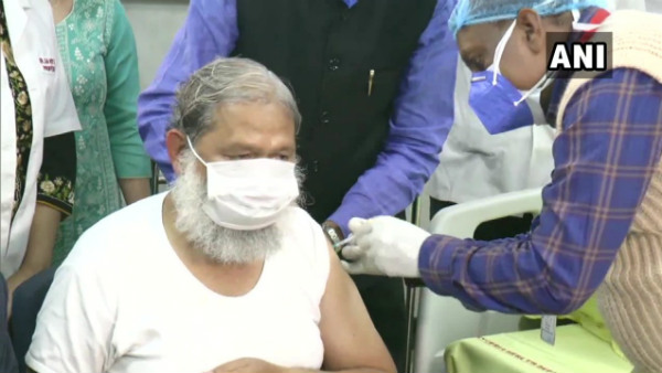 Haryana Minister Anil Vij Gets First Covaxin Shot For Phase 3 Trails Of Bharat Biotech