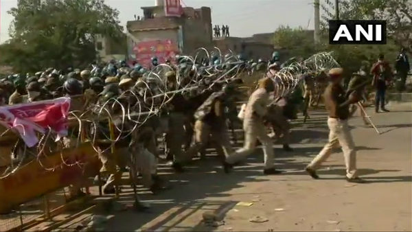 Police Allowed Farmers To Enter Delhi, But Clashes Continue