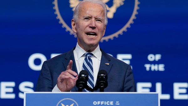 President Elect Joe Biden Says China Will Have To Play By The Rules
