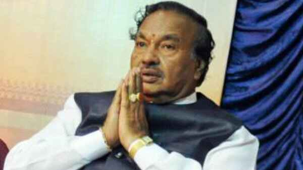 KS Eshwarappa Says No Tickets To Muslim Candidates For BJP
