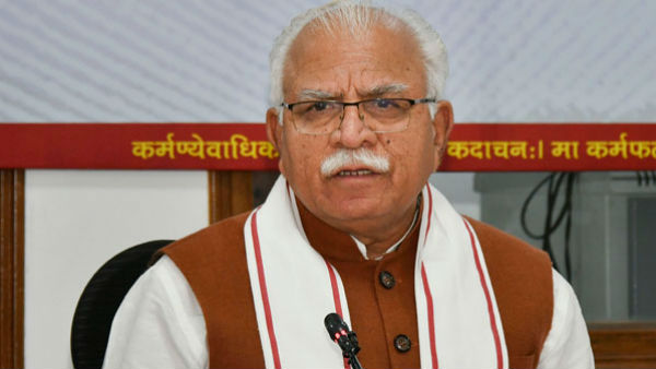 Punjab Chief Minister Office Responsible for Farmers Protest: Haryana CM ML Khattar