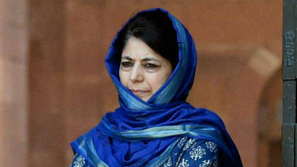 PDP Chief Mehbooba Mufti Detained Again