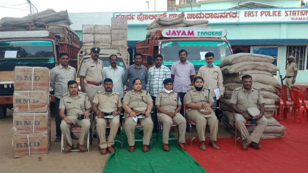 Chamarajanagar: 50 Lakhs Rs Worth Pan Masala Which Was Theft Found In Tamilnadu