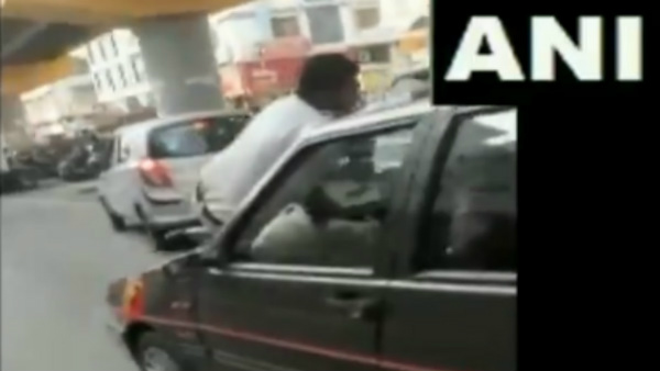 Viral Video Traffic Police Personnel Dragged